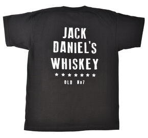 Jack Daniel's Men's Vintage Whiskey Short Sleeve T-Shirt, Black, hi-res