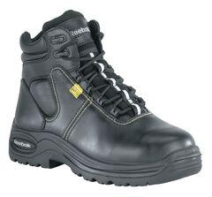 "Reebok Women's Trainex 6"" Lace-Up Work Boots - Composition Toe, , hi-res"