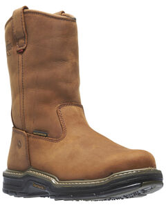 Wolverine Marauder Waterproof & Insulated Pull-On Work Boots - Steel Toe, , hi-res