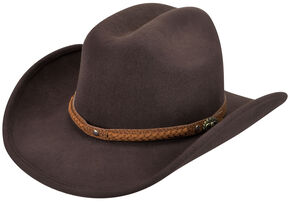 Eddy Bros. by Bailey Men's Pardner Western Hat, Brown, hi-res