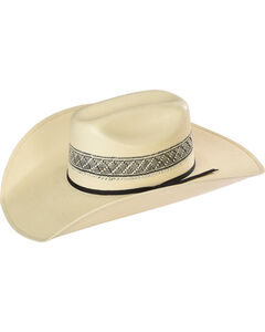 Resistol Men's Wildfire K Promo Straw Cowboy Hat, , hi-res