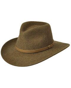 Master Hatters Men's Olive Commuter Crushable Hat, , hi-res