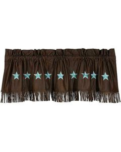 HiEnd Accents Turquoise Laredo Valance, , hi-res