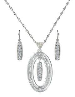 Montana Silversmiths Prairie Aster Jewelry Set , , hi-res