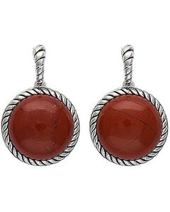 Montana Silversmiths Canyon Colors Redstone Drops Earrings, , hi-res