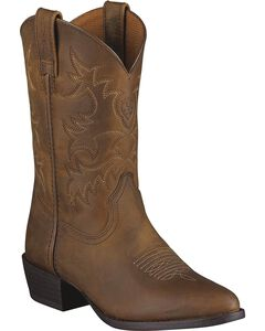 Ariat Youth Boys' Heritage Western Boots, , hi-res