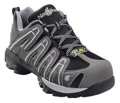 Nautilus Men's Grey Static Dissipative Work Shoes - Composition Toe, , hi-res