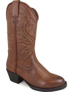 Smoky Mountain Youth Girls' Trenton Western Boots - Medium Toe , , hi-res