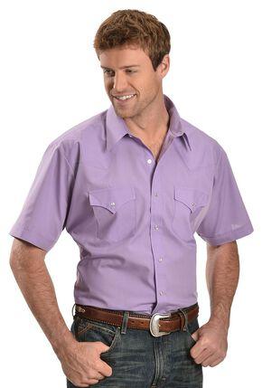 Ely Lavender Classic Western Shirt - Reg, Lavender, hi-res