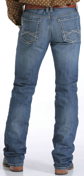 Cinch Men's Indigo Ian Mid-Rise Slim Fit Jeans - Bootcut, Indigo, hi-res