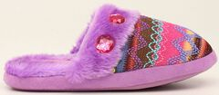 Blazin Roxx Colorful Woven Scuff Slippers, , hi-res