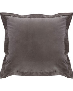 HiEnd Accents Whistler Velvet Euro Sham Accent Pillow, , hi-res