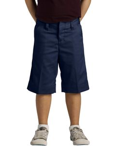 Dickies Girls' Stretch Bermuda Shorts - 16-20, , hi-res