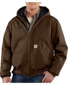Carhartt Black Ripstop Active Jacket, Dark Brown, hi-res
