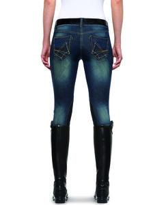 Ariat Women's Denim Breeches, , hi-res