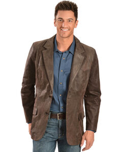 Scully Oakridge Western Leather Blazer, , hi-res