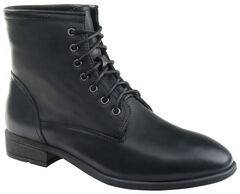 Eastland Women's Black Juliana Plain Toe Boots  , , hi-res