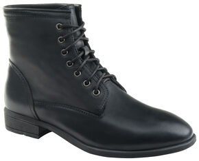 Eastland Women's Black Juliana Plain Toe Boots  , Black, hi-res