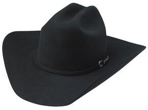 Tony Lama Rodeo Black 6X Fur Felt Cowboy Hat, Black, hi-res