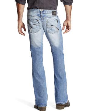 Ariat Men's Indigo M7 Wyatt Slim Fit Jeans - Boot Cut , Indigo, hi-res