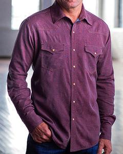 Ryan Michael Men's Brick Double Dye Paisley Shirt , , hi-res