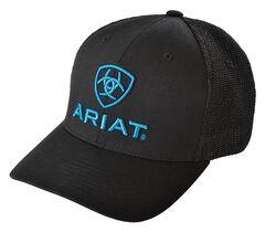 Ariat Blue Logo Embroidered Cap, , hi-res