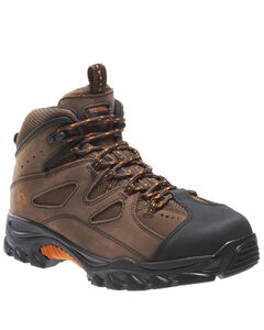 "Wolverine 6"" Lace-Up Hudson Hiker Boots - Steel Toe, , hi-res"