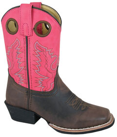 Smoky Mountain Girls' Memphis Western Boots - Square Toe, , hi-res