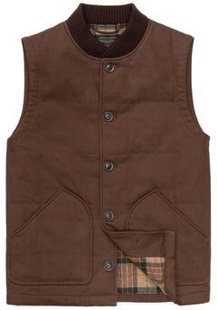 Pendleton Men's Brown Canvas Journey Vest, , hi-res