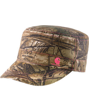Carhartt Women's Realtree Camo Hendrie Military Cap , Camouflage, hi-res