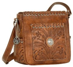 American West Harvest Moon All Access Crossbody Bag, , hi-res