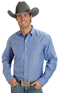Stetson Solid Button Oxford Shirt, , hi-res