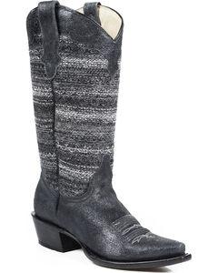 Roper Vintage Fabric Cowgirl Boots - Snip Toe, , hi-res