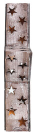 BB Ranch Wooden LED Star Lantern, No Color, hi-res