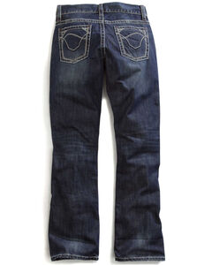 Tin Haul Men's Jagger Fit Multi Stitch Bootcut Jeans, , hi-res