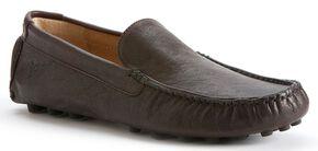 Frye Men's Russel Venetian Slip-on Shoes, Dark Brown, hi-res