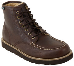 Eastland Men's Brown Lumber Up Fleece Lined Boots, , hi-res