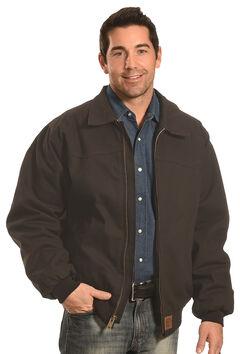 Forge Workwear Men's Black Canvas Jacket , , hi-res