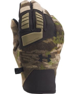 Under Armour Ridge Reaper Forest Camo Speedfreak Wool Gloves , Camouflage, hi-res