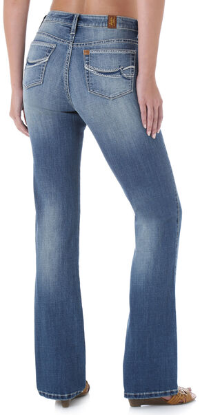 Wrangler Aura Instantly Slimming Stitch Pocket Jeans, Denim, hi-res