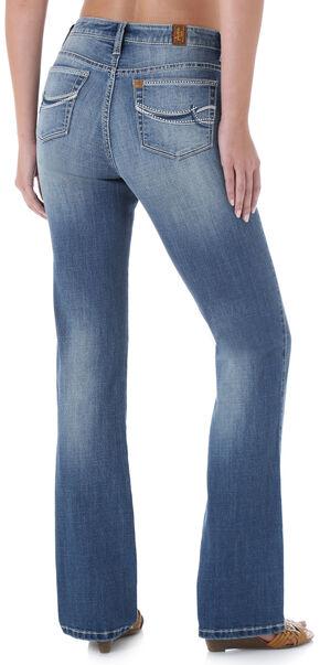 Wrangler Aura Instantly Slimming Stitch Pocket Jeans, Denim, hi-res