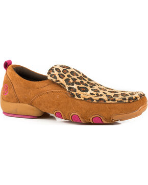 Roper Women's Tan Bailey Casual Driving Mocs , Tan, hi-res