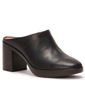 Frye Women's Black Joan Campus Mules - Round Toe, Black, hi-res