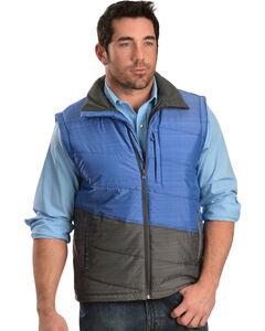 Cinch Men's Lightweight Polyfill Blue Vest, , hi-res