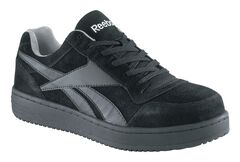Reebok Women's Soyay Skate Work Shoes - Steel Toe, Black, hi-res