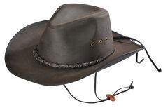 Outback Trading Bootlegger Oilskin Hat, , hi-res