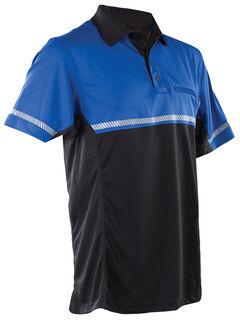 Tru-Spec Men's 24-7 Royal Blue Bike Polo Shirt , , hi-res