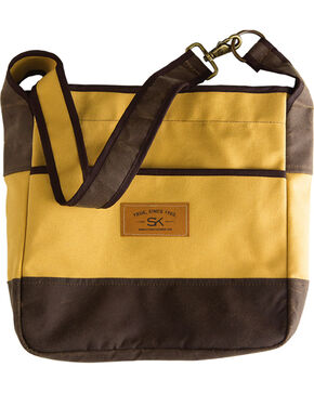 Stormy Kromer Canvas Duck Kromer Tote, Yellow, hi-res