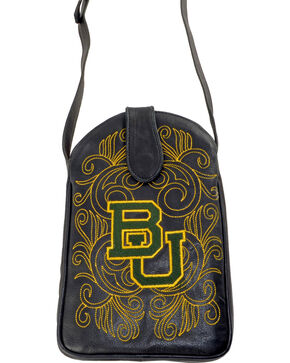 Gameday Boots Baylor University Crossbody Bag, Black, hi-res