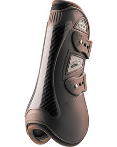 Veredus Brown Carbon Gel Open Front Boots, , hi-res